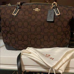 Coach Kelsey Bag Dark Brown